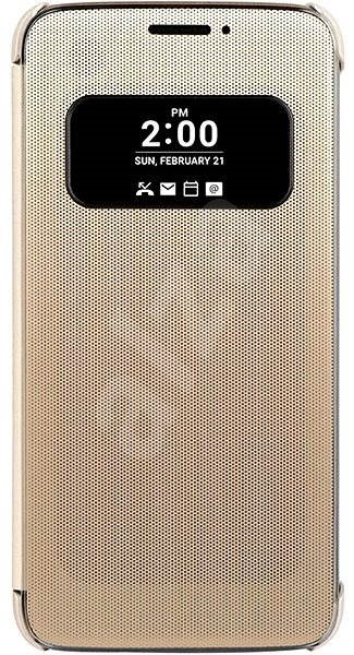 LG S-View Gold CFV-160 - Mobile Phone Case