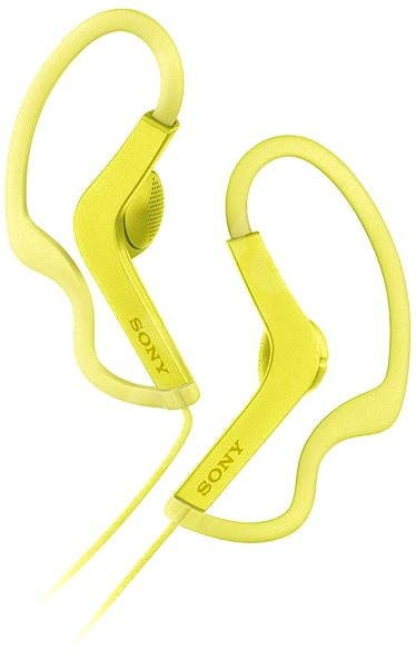Sony MDR-AS210 Yellow - Headphones