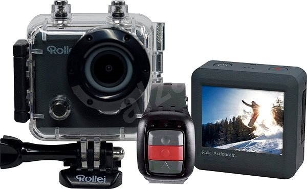 Rollei ActionCam 230 Wi-Fi + black accessories worth 879, - CZK FREE - Digital Camcorder