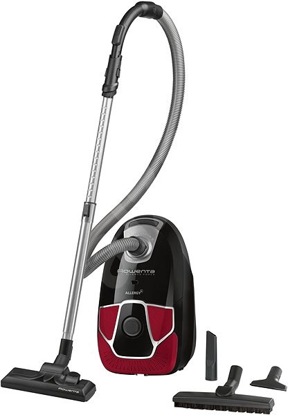 Rowenta RO6859EA Silence Force Allergy+ Parquet - Bagged Vacuum Cleaner
