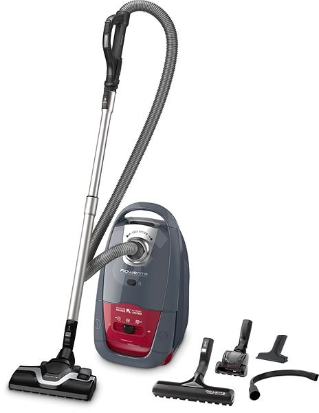 Rowenta RO7366EA Silence Force Home & Car - Bagged vacuum cleaner