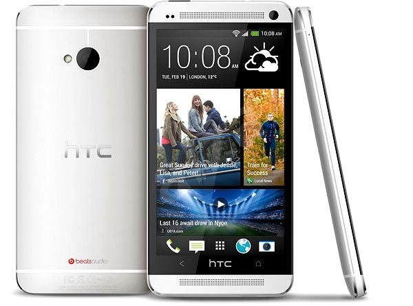 HTC One (M7) Silver Dual-SIM - Mobile Phone