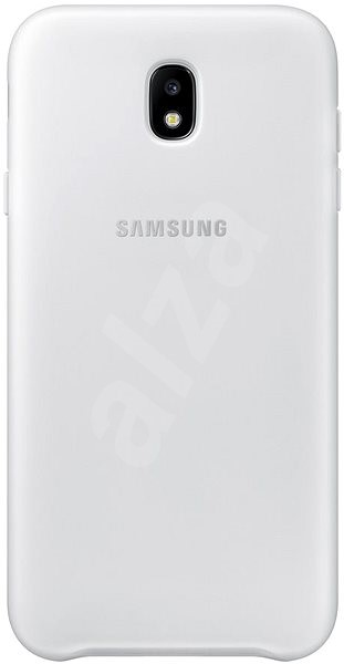 Samsung Dual Layer Cover for Galaxy J7 (2017) EF-PJ730C white - Mobile Case