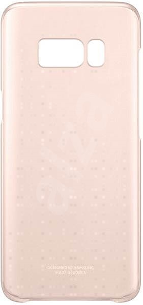 Samsung EF-QG955C Clear Protective Cover pro Galaxy S8+ pink - Mobile Case