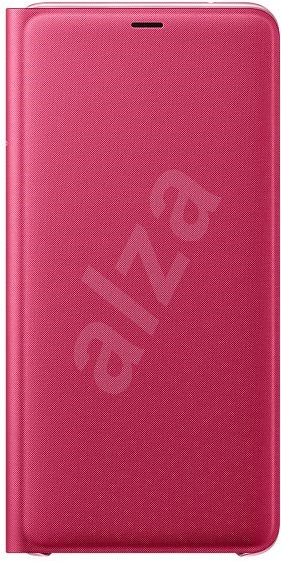 Samsung A9 Flip Wallet Cover Pink - Mobile Phone Case