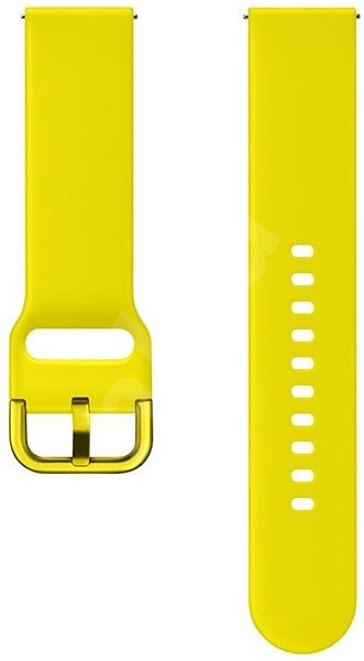 Samsung Strap for Galaxy Watch Active Yellow - Watch band