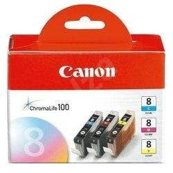 CANON CLI-8 C/M/Y Pack - cyan, magenta, yellow - Cartridge