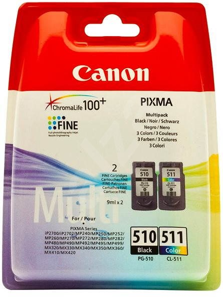 Canon PG-510 + CL-511 multipack - Cartridge