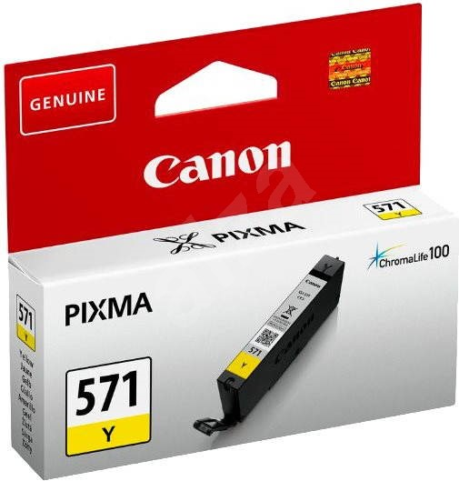 Canon CLI-571Y Yellow Ink Cartridge - Cartridge