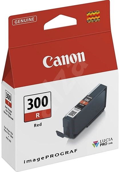 Canon PFI-PFI-300R Red - Cartridge
