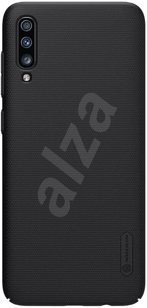Nillkin Frosted Rear Cover for Samsung A70 Black - Mobile Case