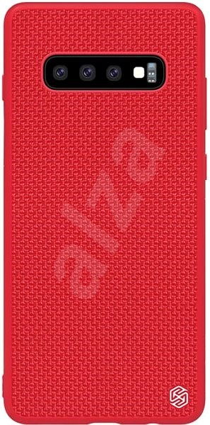 Nillkin Textured Hard Case for Samsung Galaxy S10 Red - Mobile Case
