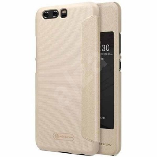 Nillkin Sparkle S-View White for Huawei P10 - Mobile Phone Case