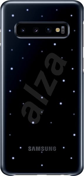 Samsung Galaxy S10 LED Cover Black - Mobile Case