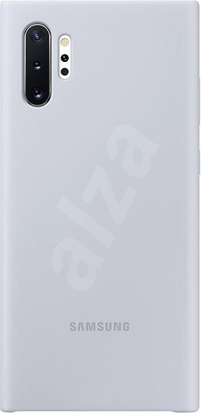 Samsung Silicone Back Cover for Galaxy Note10+ silver - Mobile Case