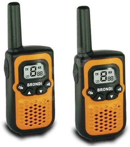 BRONDI FX Compact Sport Orange - Walkie-talkies
