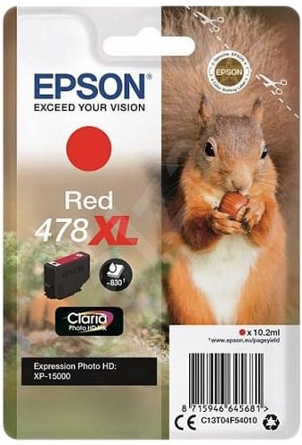 Epson 478XL Red - Cartridge