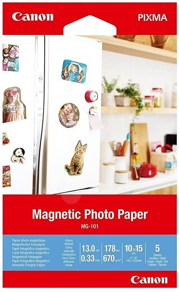 Canon Magnetic Photo Paper MG-101 - Photo Paper
