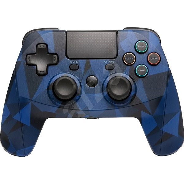 SNAKEBYTE GAME: PAD 4 S WIRELESS CAMO BLUE - Gamepad