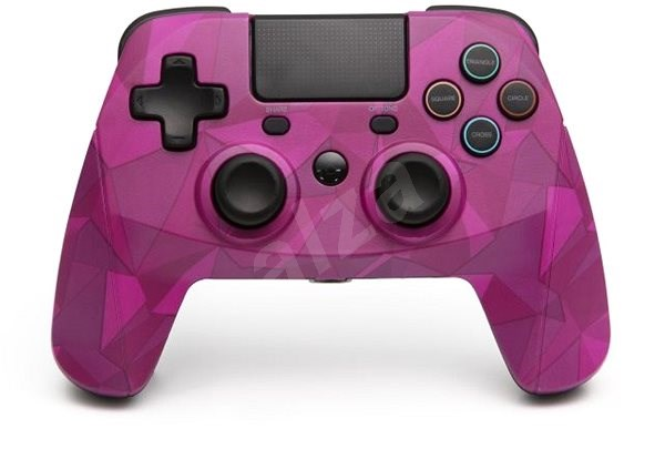 SNAKEBYTE GAME: PAD 4 S WIRELESS BUBBLEGUM CAMO - Gamepad