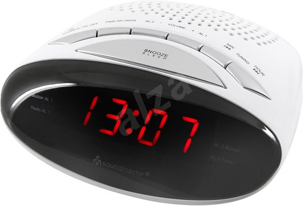 Soundmaster UR101WE - Radio Alarm Clock