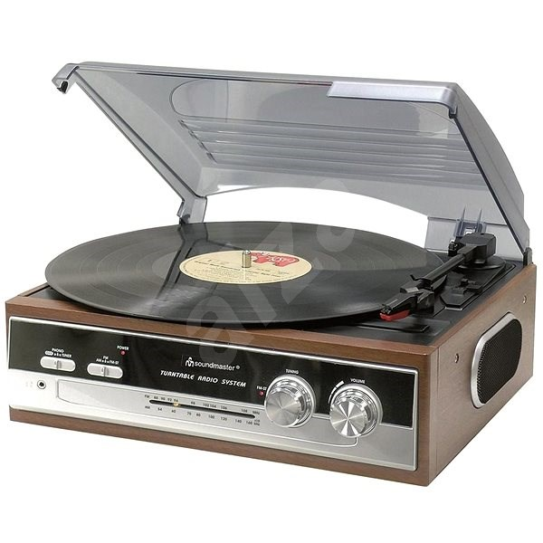 Soundmaster PL186H - Turntable