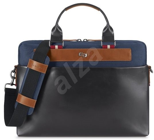 "Solo Southampton Slim Brief Blue 15.6 "" - Laptop Bag"