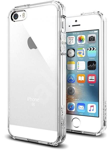meet eb2eb 3d871 SPIGEN Ultra Hybrid Crystal Clear iPhone SE/5s/5