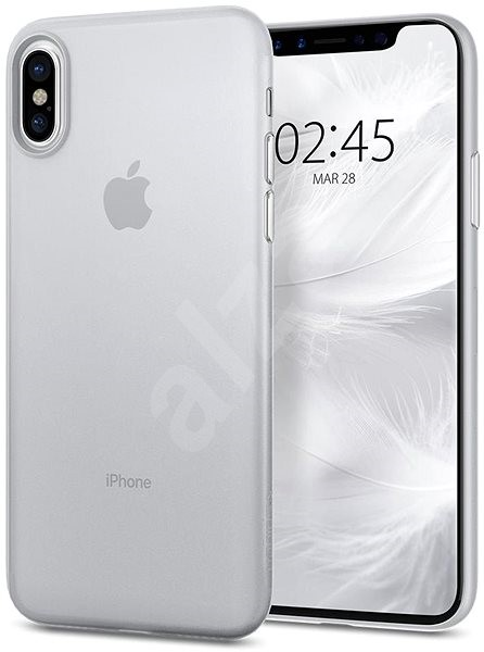 Spigen Air Skin Clear iPhone X - Protective Case