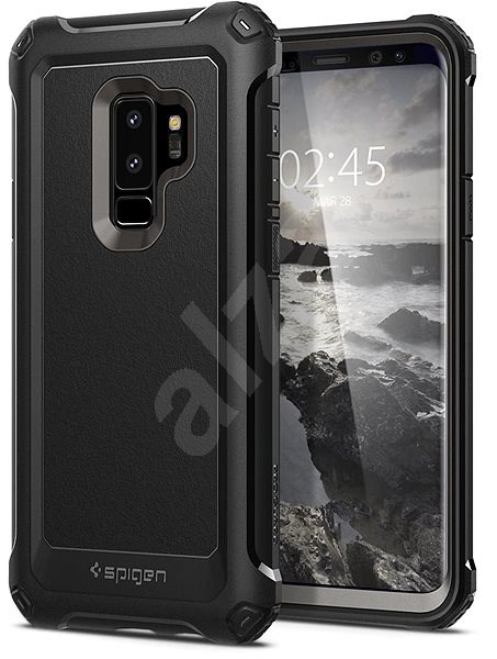 wholesale dealer 72213 9903e Spigen Galaxy S9 Plus Case Pro Guard Gunmetal