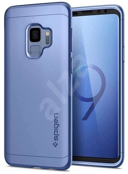 promo code 18802 de55c Spigen Thin Fit 360 Coral Blue Samsung Galaxy S9 - Mobile Case ...