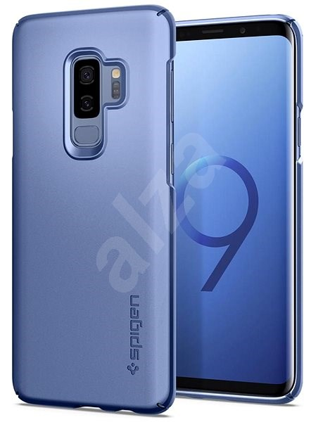 Spigen Thin Fit Coral Blue Samsung Galaxy S9+ - Protective Case