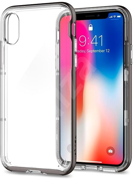 brand new df3fd 5086c Spigen Ultra Hybrid Space Crystal iPhone X - Protective Case | Alza ...