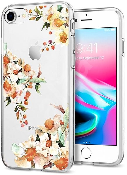 sports shoes 57a8d 14aa1 Spigen Liquid Crystal Aquarelle Primrose iPhone 7/8