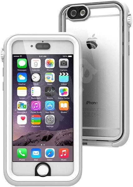 Catalyst Waterproof White Grey iPhone 6/6s - Case