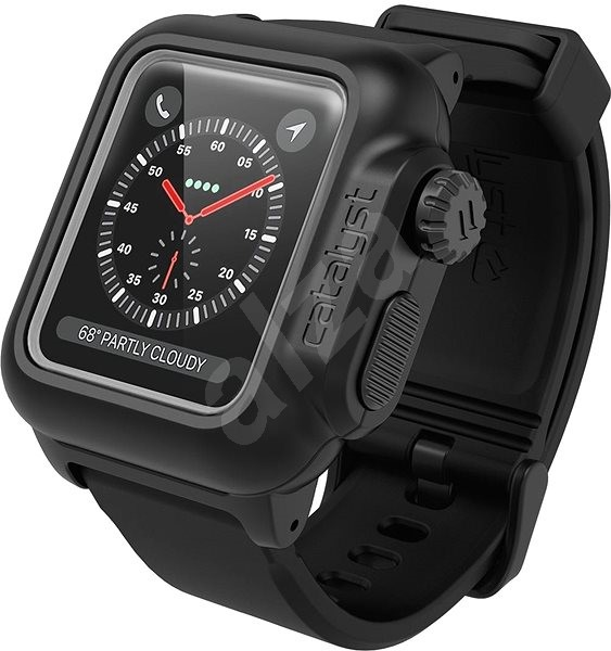 online retailer a54ad dae74 Catalyst Waterproof Case Black Apple Watch 3/2 42mm