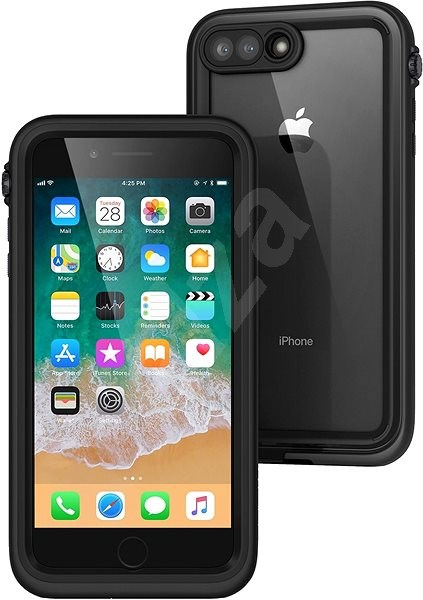online retailer 8eb13 48759 Catalyst Waterproof Case Black iPhone 8 Plus/7 Plus
