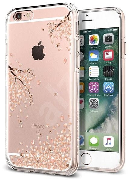 watch bc453 7eccf Spigen Liquid Crystal Shine Blossom iPhone 6/6s