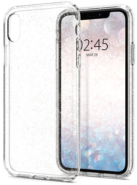 Spigen Liquid Crystal Glitter Crystal iPhone XR - Mobile Case