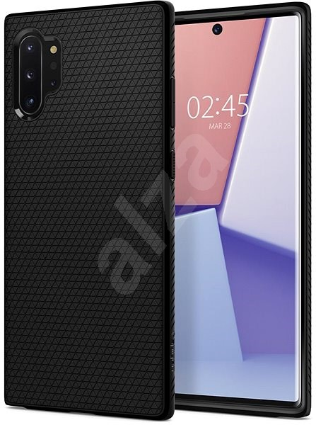 Spigen Liquid Air Black Samsung Galaxy Note 10+ - Mobile Case