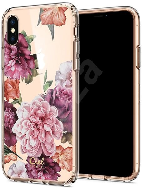Spigen Ciel By CYRILL Cecile Case, Rose, for iPhone XS/X - Mobile Case
