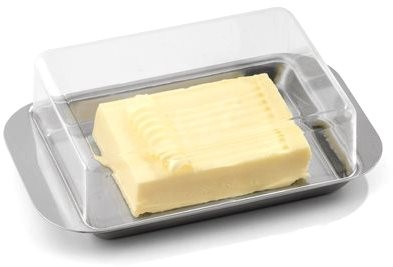 Weis Butter Dish- Transparent cover - Container