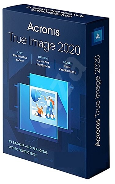 Acronis True Image 2019 CZ Upgrade for 1 PC (Electronic License) - Backup software