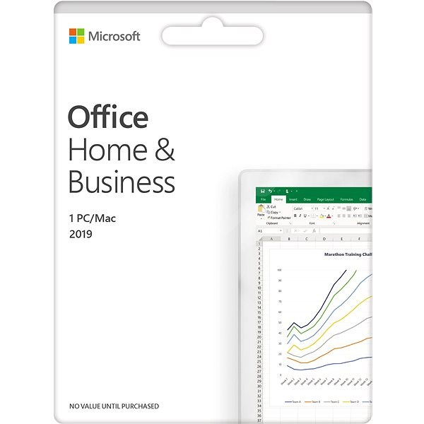 Microsoft Office 2019 Home and Business EN (electronic licence) - Office Software