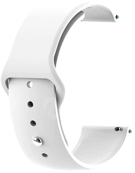 Tactical Silicone Strap for Garmin Vivoactive 3 White (EU Blister) - Watch band