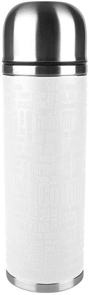 Tefal thermos flask 1.0l SENATOR white stainless steel - Thermos