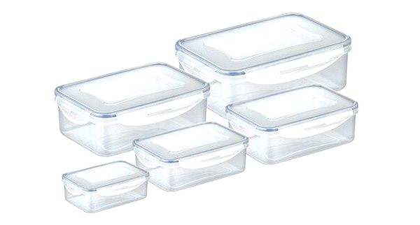 TESCOMA Dóza FRESHBOX 5pcs, rectangular - Food Container Set