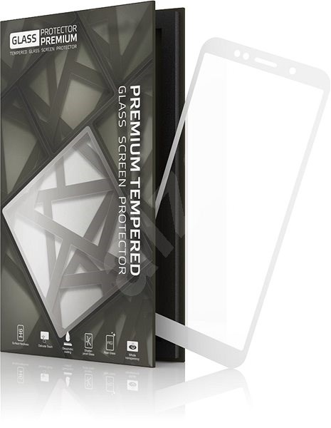 Tempered Glass Protector Frame for Honor 7S White - Glass protector