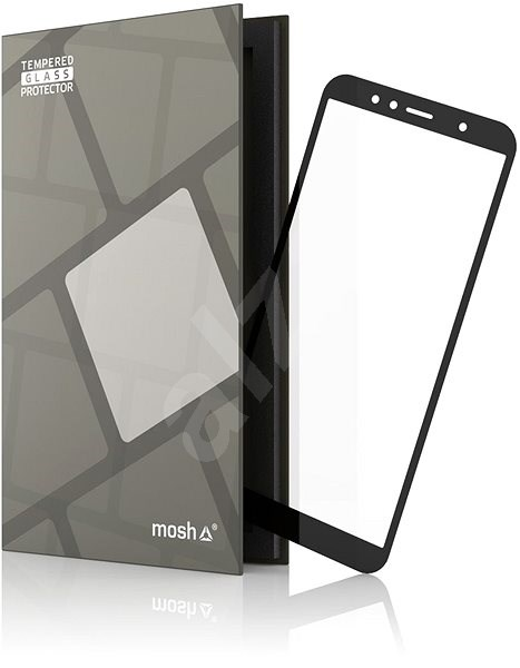 Tempered Glass Protector Frame for Honor 7A Black - Glass protector