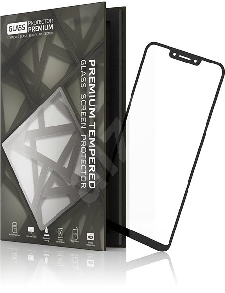 Tempered Glass Protector Frame for Huawei Honor Play - Glass protector